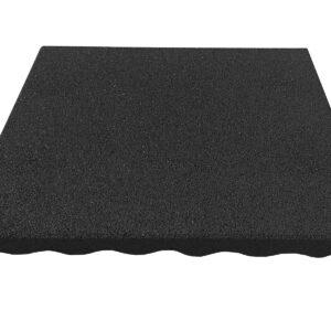 Гумени Плочи 40 x 40 x 2.5 cm (црни)