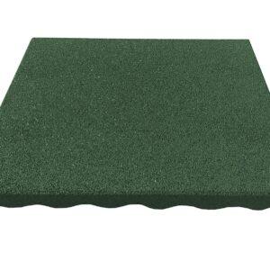 Гумени Плочи 40 x 40 x 2.5 cm (зелени)