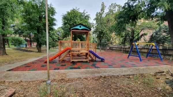 Проект игралишта Општина Центар